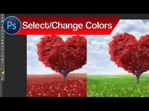 How To Select And Change Colors In Oshop Change Color Of Objects