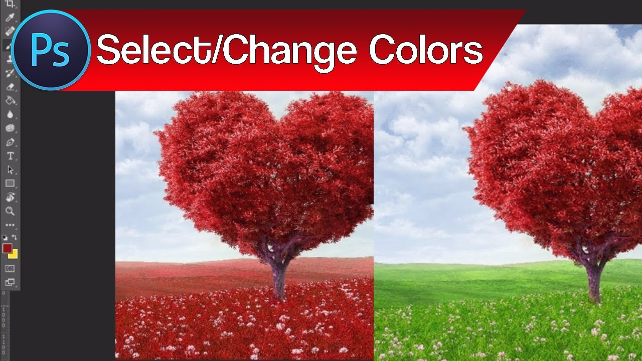 How to Select and Change Colors in Photoshop – Change Color of ...