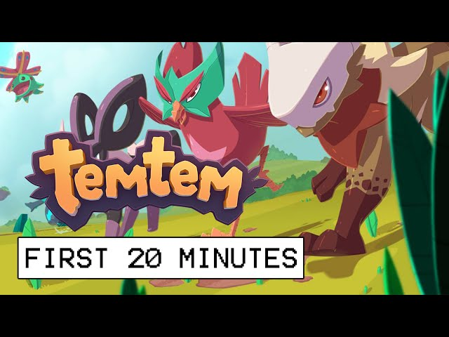Temtem First 20 Minutes Of Gameplay