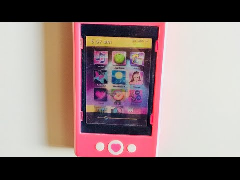 Toy Mobile Phone Hologram Tesco Sparkle 'n' Glitz