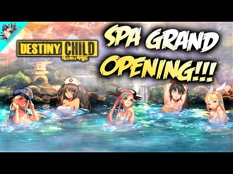[Destiny Child] New Spa (Hot Springs) Update First Look!