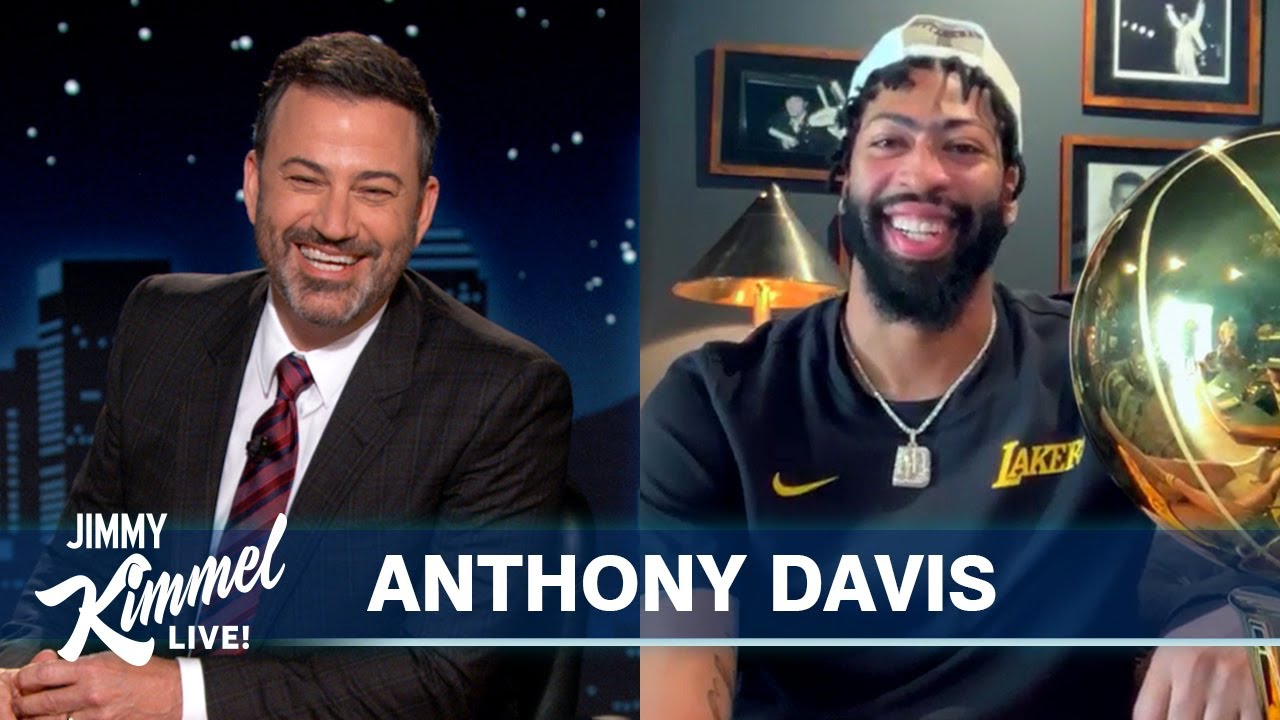Lakers Champ Anthony Davis on Winning First Championship, Kobe's Legacy & Parents in the Bubble