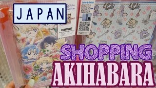 Anime Shopping in TOKYO | AKIHABARA | KimDao in JAPAN