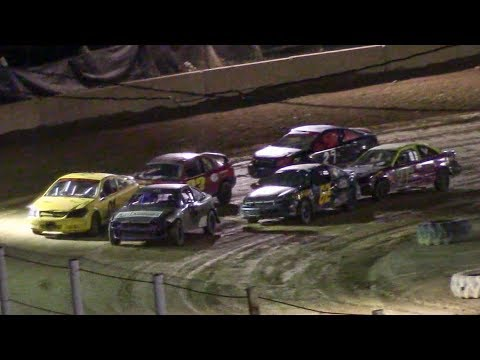 Mini Stock Heat One | Old Bradford Speedway | 9-14-18
