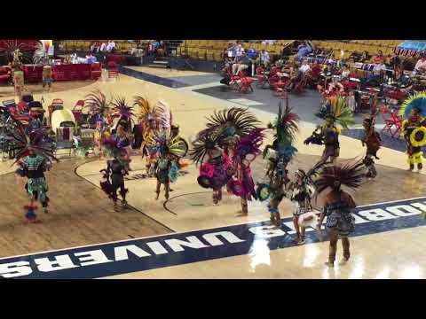 2018 IICOT Powwow Aztec Dancers Exhibition