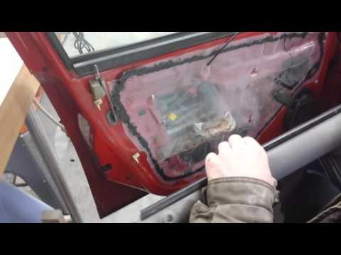 Fixing a car window that's gone off track   2005 Cobalt