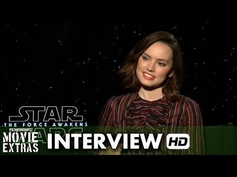 Star Wars: The Force Awakens (2015) Official Movie Inteview - Daisy Ridley is 'Rey'