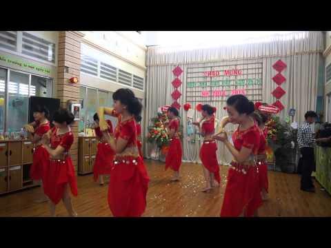 Văn nghệ 20-11 múa Ấn độ Made in India