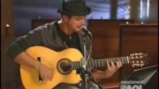 Alejandro Sanz - Regálame la silla donde te esperé (Aol Sessions)