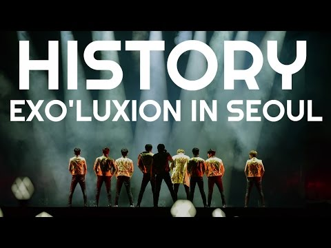 #3 EXO - History  [The Exo'Luxion In Seoul]  [DVD]