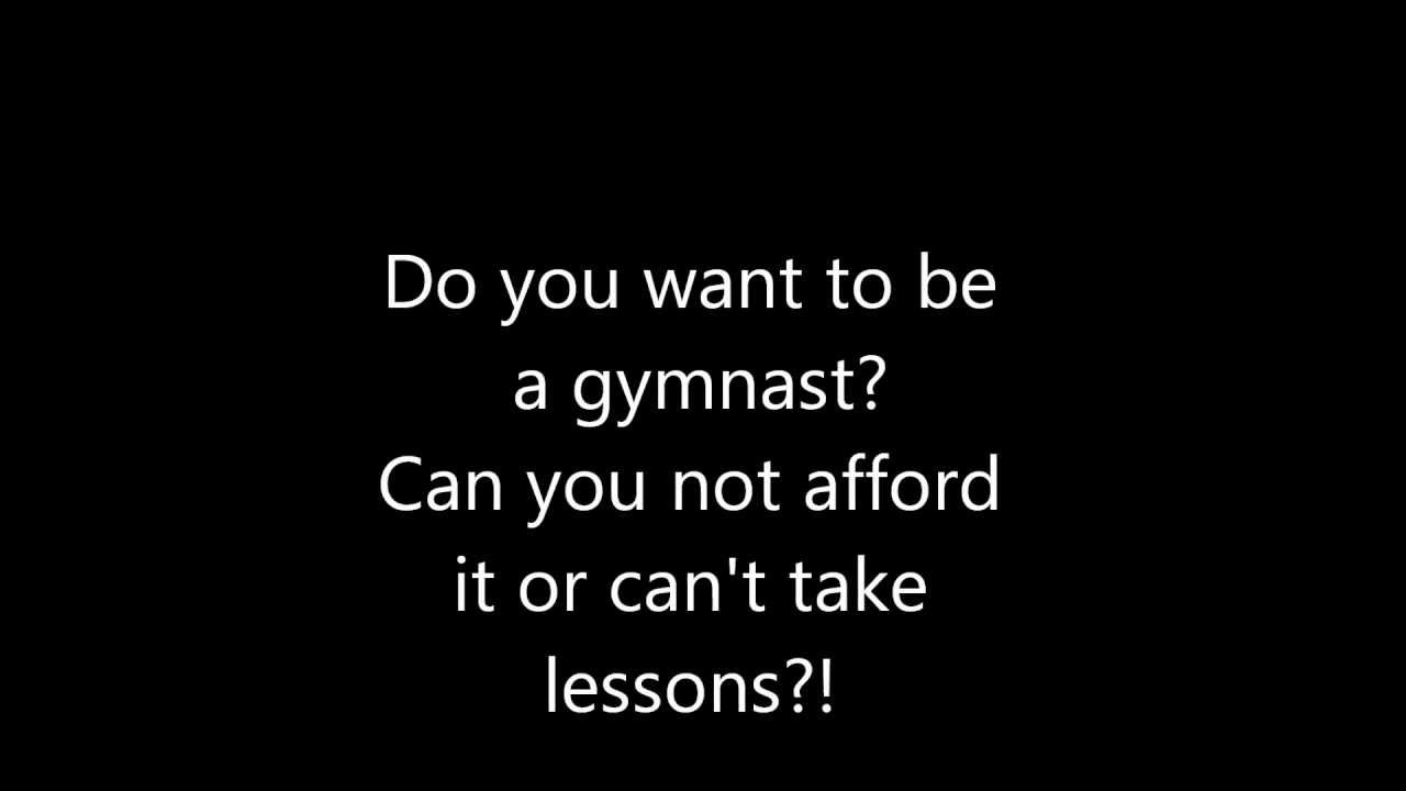 How to Be a Gymnast