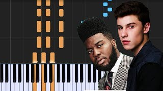 """Shawn Mendes - """"Youth"""" ft Khalid Piano Tutorial - Chords - How To Play - Cover"""