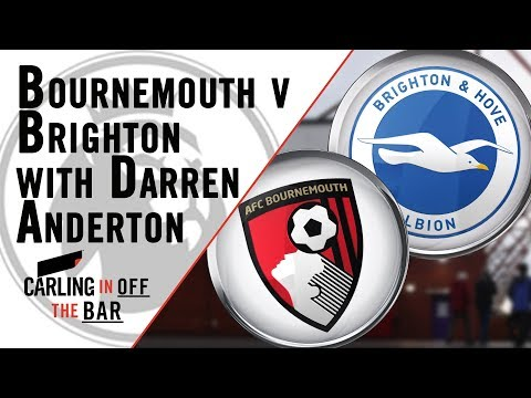 Carling In Off The Bar Pre-Match - AFC Bournemouth v Brighton & Hove Albion