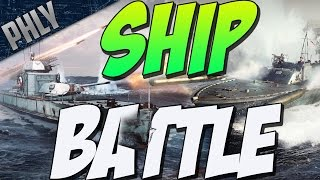 WAR THUNDER SHIP BATTLE - SHIP VS SHIP (War Thunder Naval Forces)