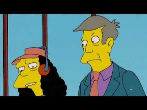 Science in Simpsons (Conservation of Momentum)