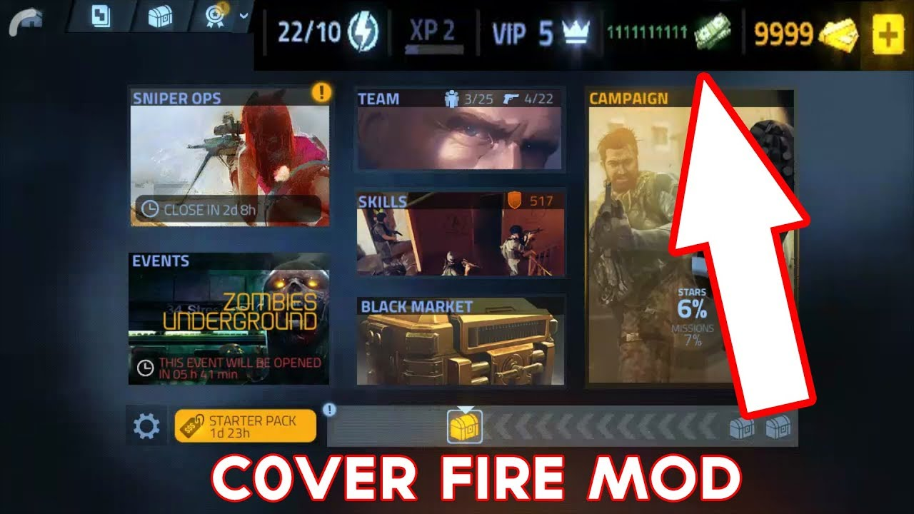 Cover Fire 2019 Mod APK - Unlimited Money - YouTube