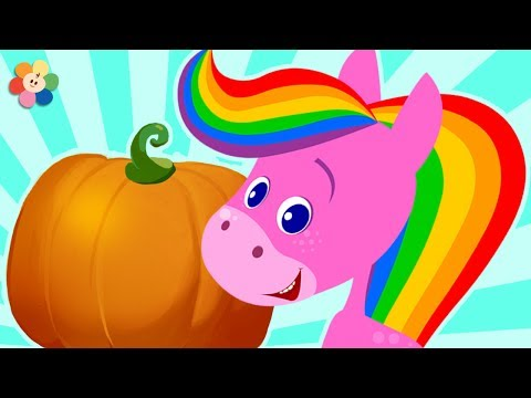 Learn Colors with Rainbow Horse | Orange Delight | Learn Colors for Toddlers by BabyFirst