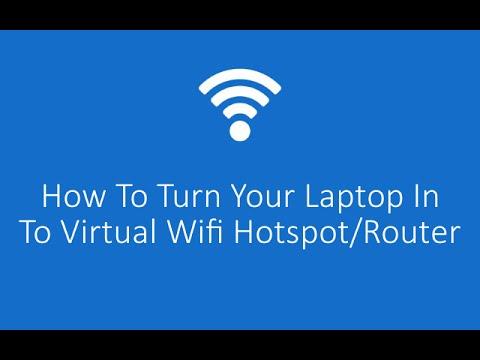Как включить раздачу вай фай на ноутбуке виндовс 10