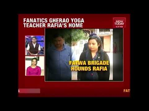 Fatwa Brigade Vs Rafia : Fundamentalist Attacks Rafia's House For Practising Yoga | India First