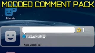 PS3 Modded Comment Pack with USB | 14+ COMMENT DOWNLOADS