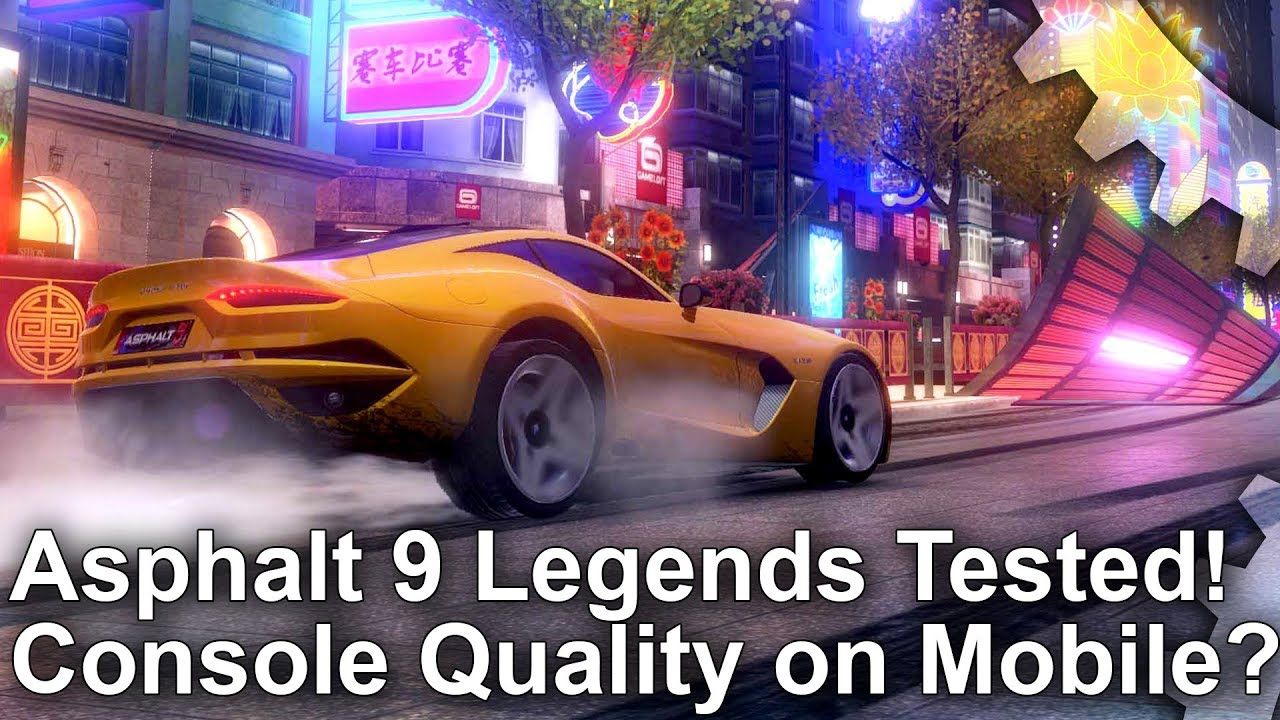 Asphalt 9 Legends is one of the best-looking mobile games we've seen