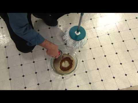 Fuller Brush Microfiber Rotating Mop W 2 Mop Heads And