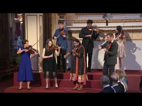 Performance for Queen Elizabeth 2; CHOGM opening at Buckingham Palace - TVM Interview