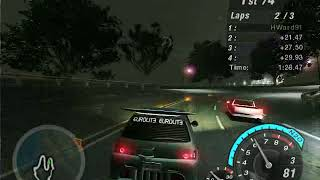Need For Speed Underground 2 - Hidden/Secret race Circuit #11