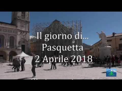 Il giorno di Pasquetta a Norcia 2 Aprile 2018