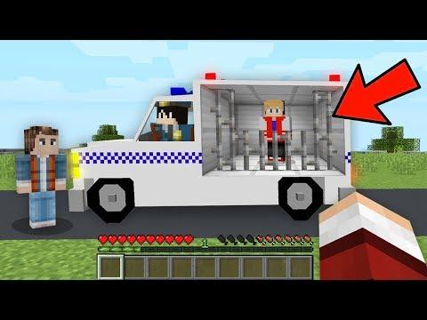 POLICIAL PRENDEU MEU AMIGO JPPLAYS NO MINECRAFT thumbnail