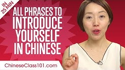 ALL Phrases to Introduce Yourself like a Native Chinese Speaker