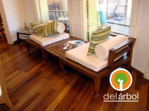 muebles de madera para interior 2017 del