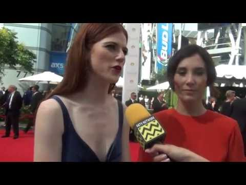 Game Of Thrones' Rose Leslie & Sibel Kekilli @ The 66th Annual Primetime Emmy Awards | AfterBuzz TV
