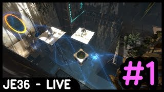 Twitch Livestream Re-upload: Portal 2 Co-Op Mode (w/Liam) | Part 1