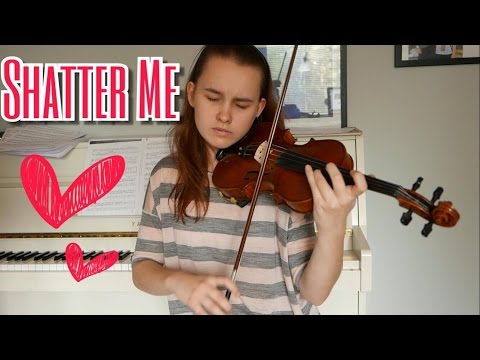 Shatter Me Orchestral Version  - Lindsey Stirling (Emma Dahl, Violin Cover)