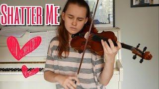 Shatter Me Orchestral Version  - Lindsey Stirling (Emma Dahl, Violin Cover)