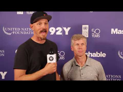 Mick Ebeling, Bob More: 2016 Social Good Summit