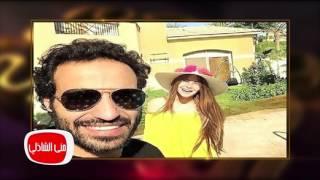 فيديو.. أحمد فهمي يكشف موقف «حسين فهمي» من زواجه بنجلته «منة»