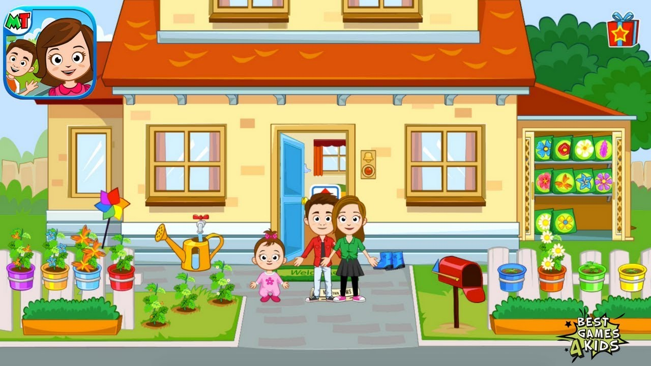 my town home doll house eat sleep shower and play around by my town games ltd youtube my town home doll house eat sleep shower and play around by my town games ltd