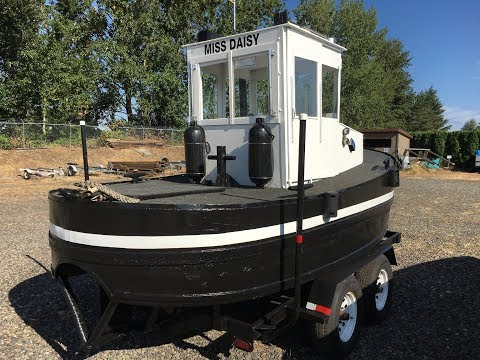 1950 17' Pond Tug with Trailer for Sale in Portland, Oregon