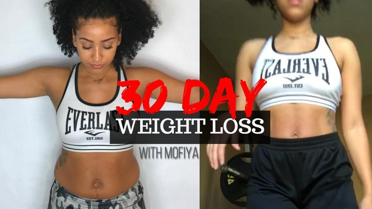 30 Day Weight Loss Results Before After Footage Youtube
