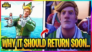 *NEW* WHY CODENAME E.L.F SHOULD BE RETURNING SOON! | Fortnite Battle Royale Theory