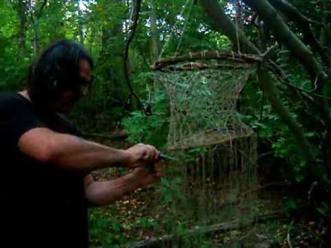 How To Make A Net Using Paracord Or Any Cordage Doovi