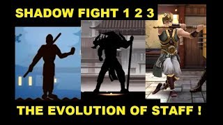 Shadow Fight 3 2 1 The Evolution of Staff !