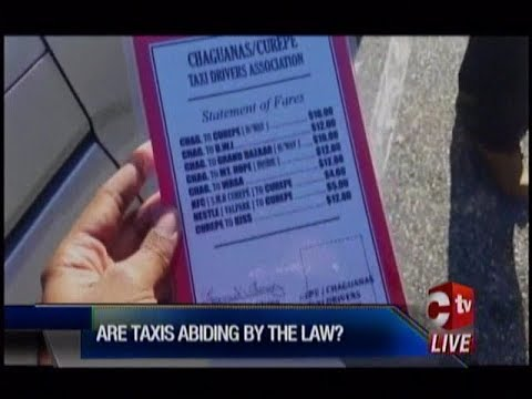 Taxi Drivers Must Abide By The Law And Display Fares