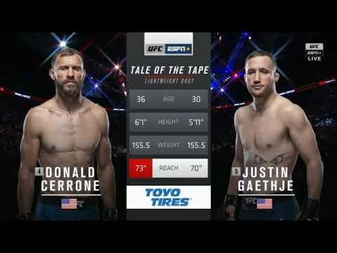 Cerrone vs. Gaethje: full fight