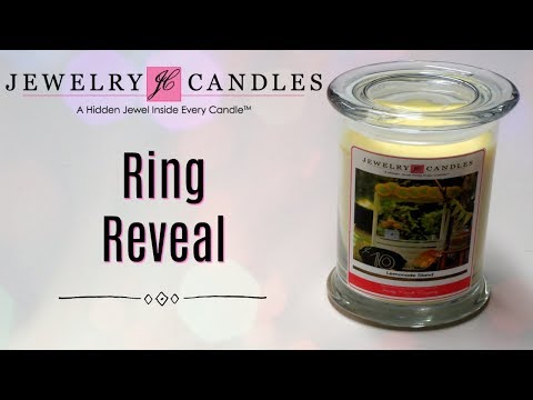 Jewelry Candles Ring Reveal - Lemonade Stand Candle!