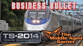Train Simulator 2014 - Northeast Corridor - Business Bullet Career Scenario