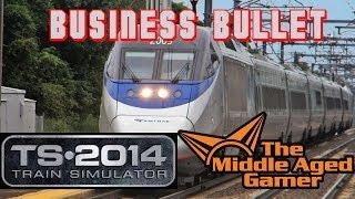 Train Simulator 2014 - Northeast Corridor - Business Bullet Career Scenario