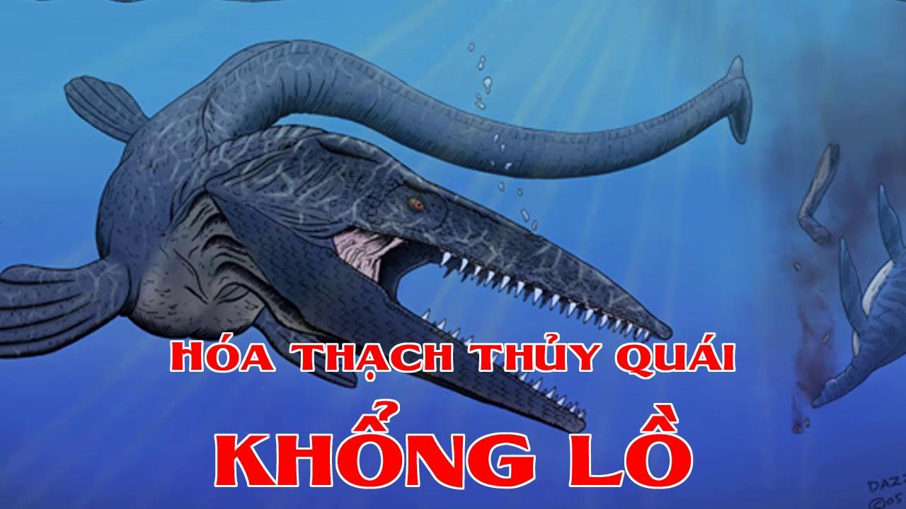 Hóa thạch thủy quái khổng lồ